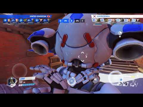 2018 Overwatch World Cup United Kingdom V South Korea From JJonak's Perspective (part 1 - Nepal)