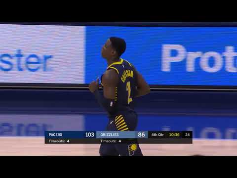 Indiana Pacers vs. Memphis Grizzlies - November 15, 2017