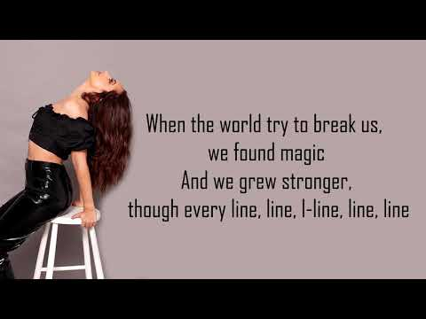 Little Mix ft. Kamille ~ More Than Words Lyrics Video [Track 11]