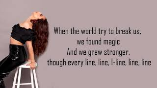 Little Mix ft. Kamille ~ 'More Than Words' Lyrics Video [Track 11]