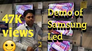 SAMSUNG LED DEMO OF 32M4100