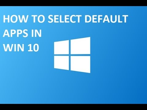 How to change windows 10 39 s default apps youtube for Apps to change photos