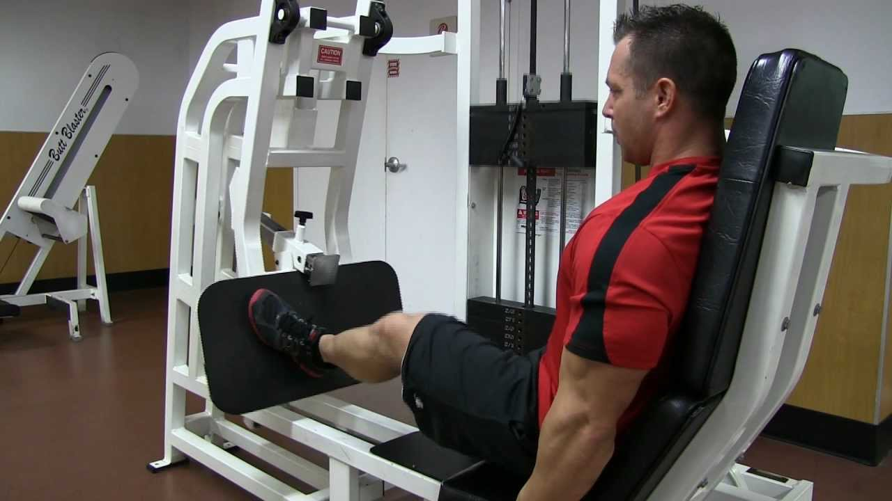 single leg press machine