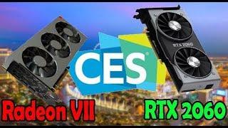 Nuove Radeon VII e RTX 2060 [Novità CES 2019]