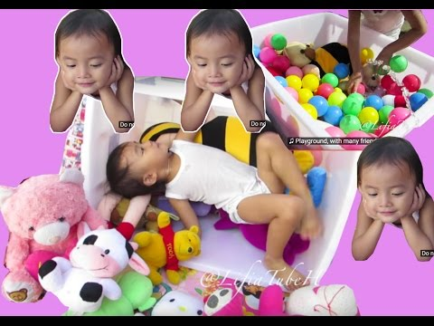 Mainan Anak ❤ Mandi Boneka - Cuci Boneka Happy Kids Washing