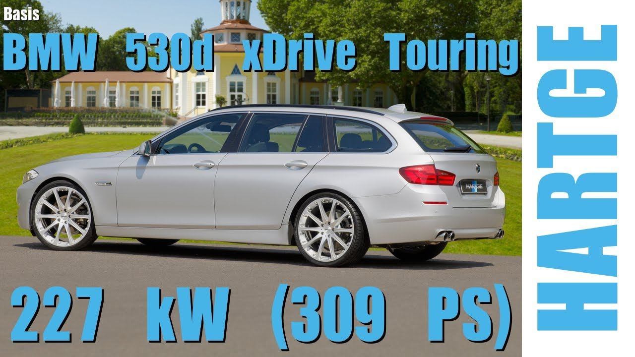 bmw 530d xdrive touring f11 test drive with hartge engine upgrade 80 200 km h youtube. Black Bedroom Furniture Sets. Home Design Ideas