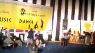 WINNING PERFORMANCE BY BANDITS AT THIR OWN COLLEGE SVIET DURING THE...