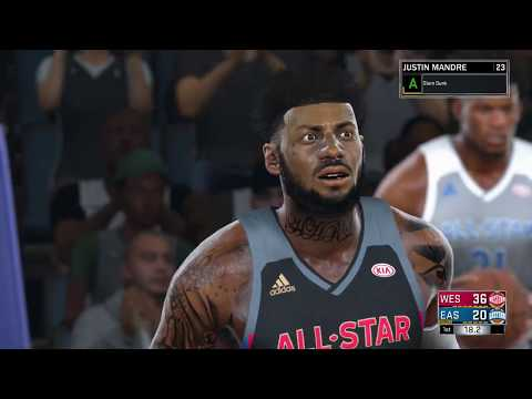 2019 ALL STAR GAME/DUNK CONTEST (NBA 2K17) {XBOX ONE}