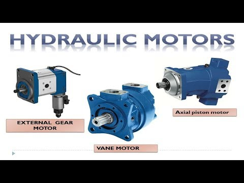 Hydraulic Motor Types And How Are They Work? Hydraulic Motors And Pumps