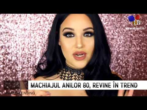 Machiajul Anilor 80 Revine în Trend Litoral Tv Youtube