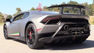 Pure Sound: 2018 Lamborghini Huracan Performante (Start Up, Revs, Acceleration)