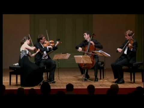 """Kuss Quartett plays Schubert """"Death and the Maiden"""""""