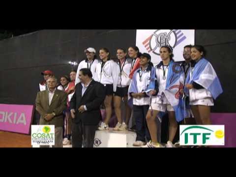 Torneo Sudamericano 16 años, Junior Davis y Fed Cup, Paraguay 2010