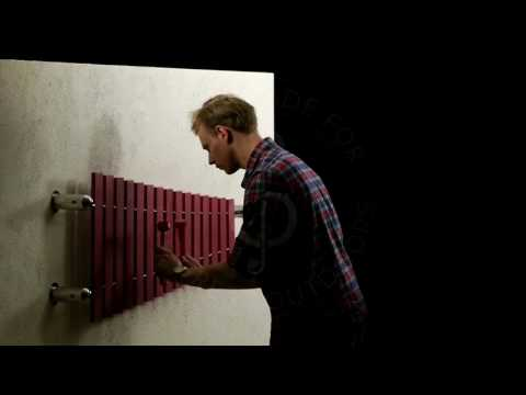 Wall Marimba | Outdoor Musical Instrument