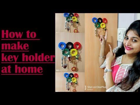 DIY | How to make key holder at home