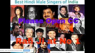 Top 10 best Male Singers of India   Best hindi bollywood Singer   Top 10 best indian singers