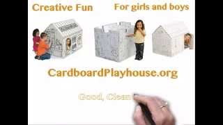 Cardboard Playhouse Dot Org