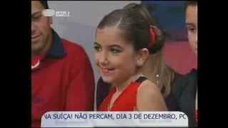 Rita Pires na RTP1 - Portugal no Coraçao Novembro 2006