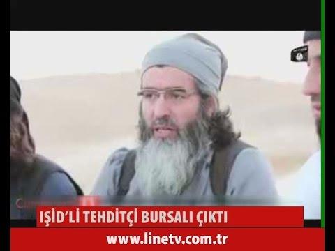 Işid'li Tehditçi Bursalı Çıktı  19 Ağustos 2015