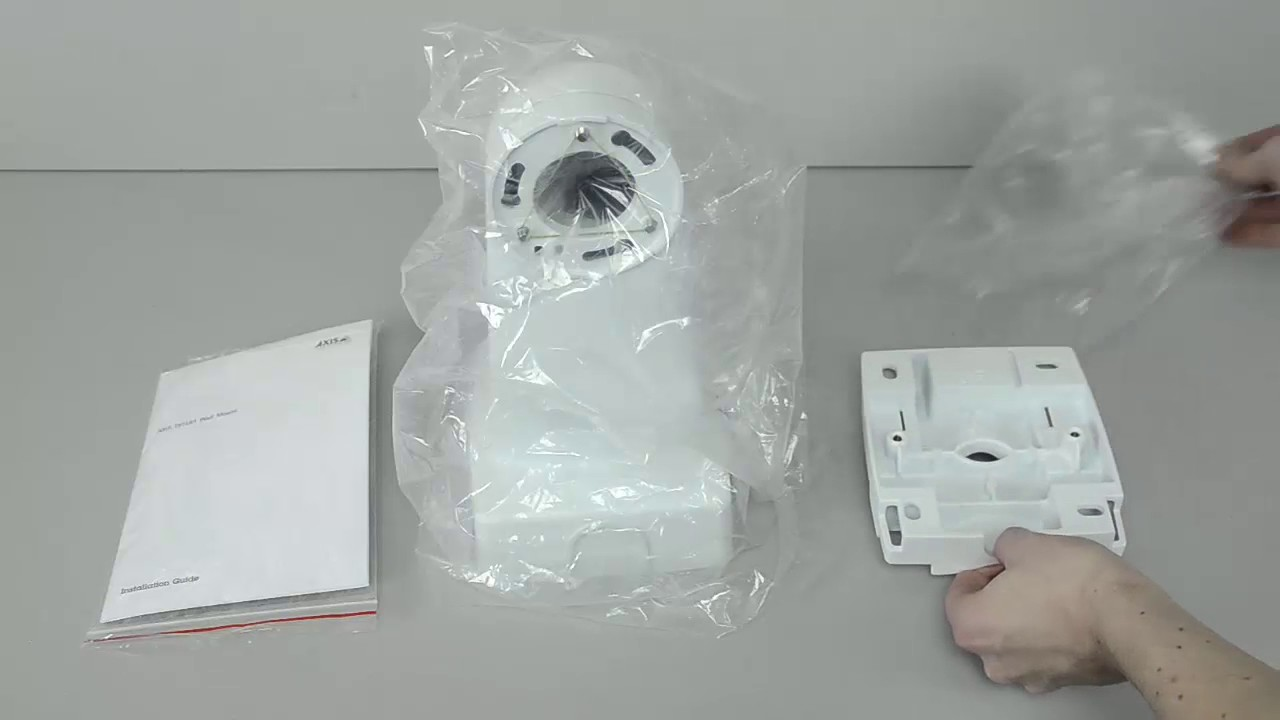 Axis T91l61 Wall And Pole Mount Unboxing Youtube