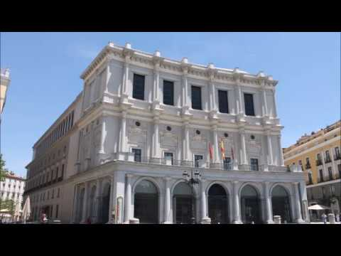 Places to see in ( Madrid - Spain ) Teatro Real