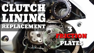 How to Change Clutch Lining | Rusi/Racal/Sym/Motorstar/Luckystar