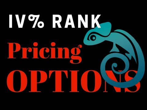 IV% Rank Example: How Options Traders Determine If An Option Price Is Cheap Or Expensive