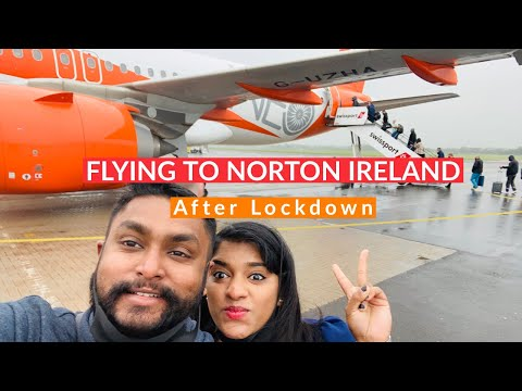 Travel to Northern Ireland after Lockdown | Day 1| Luton to