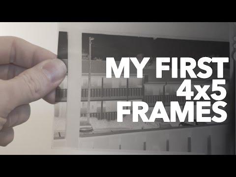 my first 4x5 frames youtube my first 4x5 frames youtube