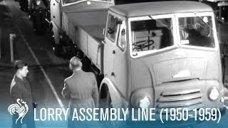 All In A Day: Lorry Assembly Line (Reel 1) (1950-1959)  | British Pathé