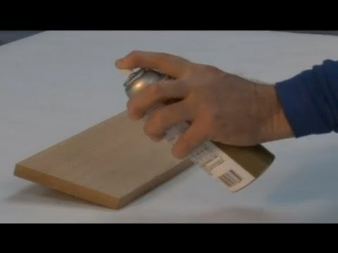 Staining Wood With Minwax Polyshades Aerosol Youtube