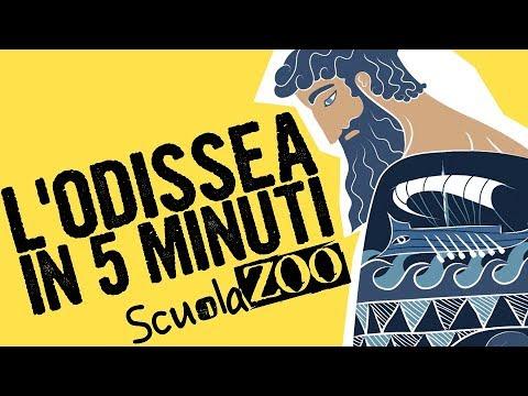 Noccioline #5 - L'ODISSEA di OMERO in MENO di 5 MINUTI #ScuolaZoo
