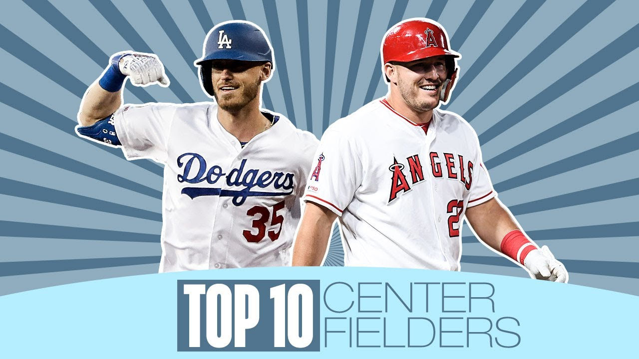 Top 10 Center Fielders in MLB for 2020