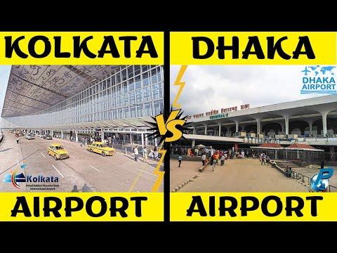Kolkata Airport VS Dhaka Airport | Airport Comparison 2020 | Placify