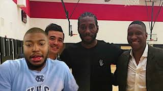 Kawhi Leonard Meets With Toronto Raptors Today, He's Reportedly Now Close To Happy Being In Toronto