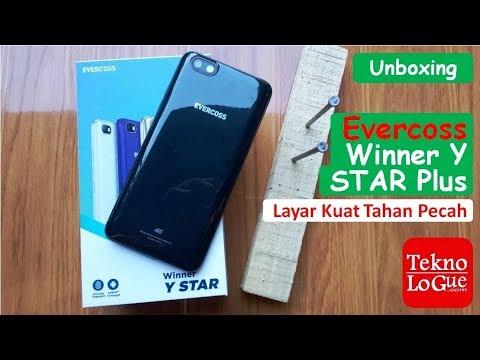 Unbox Evercoss Winner Y Star Plus (U50A+) - Tahan Pecah