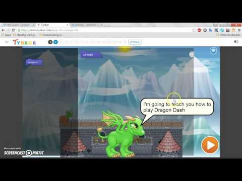 How To Play The Tynker Game Dragon Dash!