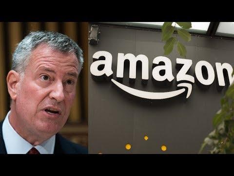 New York City Mayor Bill de Blasio: Amazon 'Threw Away' Opportunity