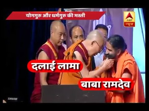 From beard yanking to belly dance; Dalai Lama and Baba Ramdev's chemistry wins millions of