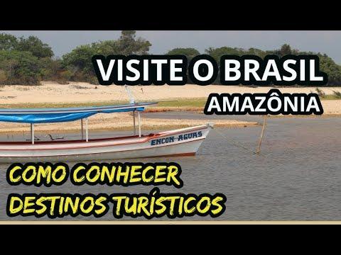 Santarém Pará, ecoturismo na Amazônia - como conhecer destinos turísticos (Turismo Brasil)