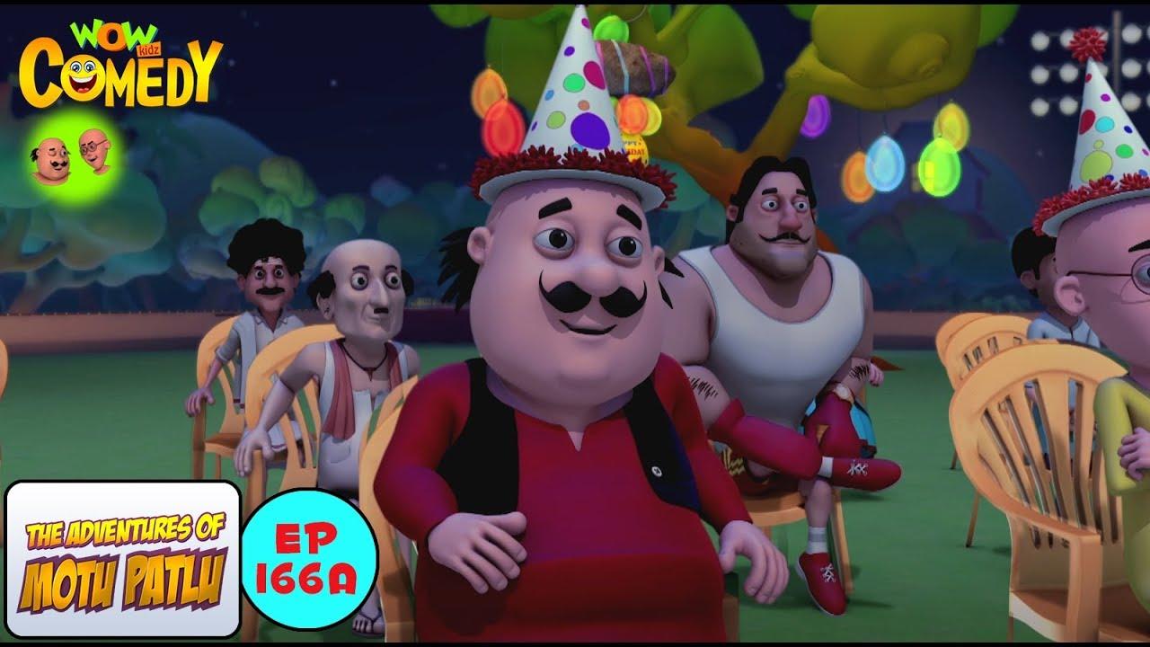 Download Don Ka Birthday - Motu Patlu in Hindi - 3D Animated cartoon series for kids - As on Nick