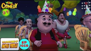 Don Ka Birthday - Motu Patlu in Hindi - 3D Animated cartoon series for kids - As on Nick