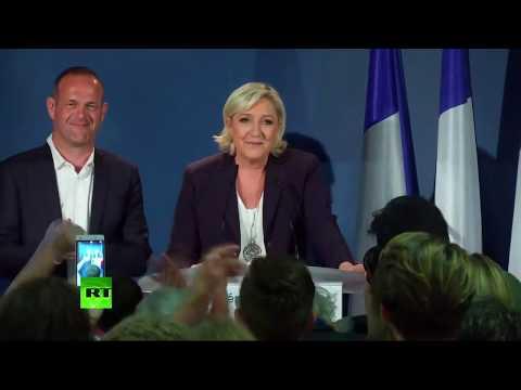 La soirée électorale du Front national à Hénin-Beaumont (Direct du 11.06)
