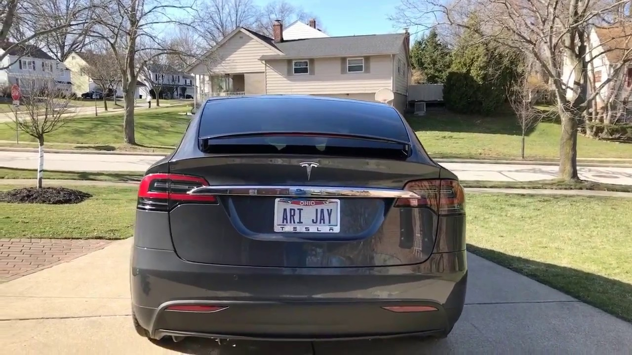 tesla model x 75d walk around feature review youtube. Black Bedroom Furniture Sets. Home Design Ideas