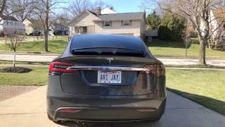 Tesla Model X 75D Walk-Around & Feature Review
