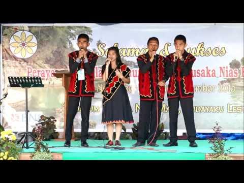 Beatbox and acappella singing in indigenous Nias language