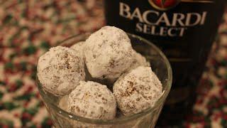 Rum Balls ~ Cookie Week!