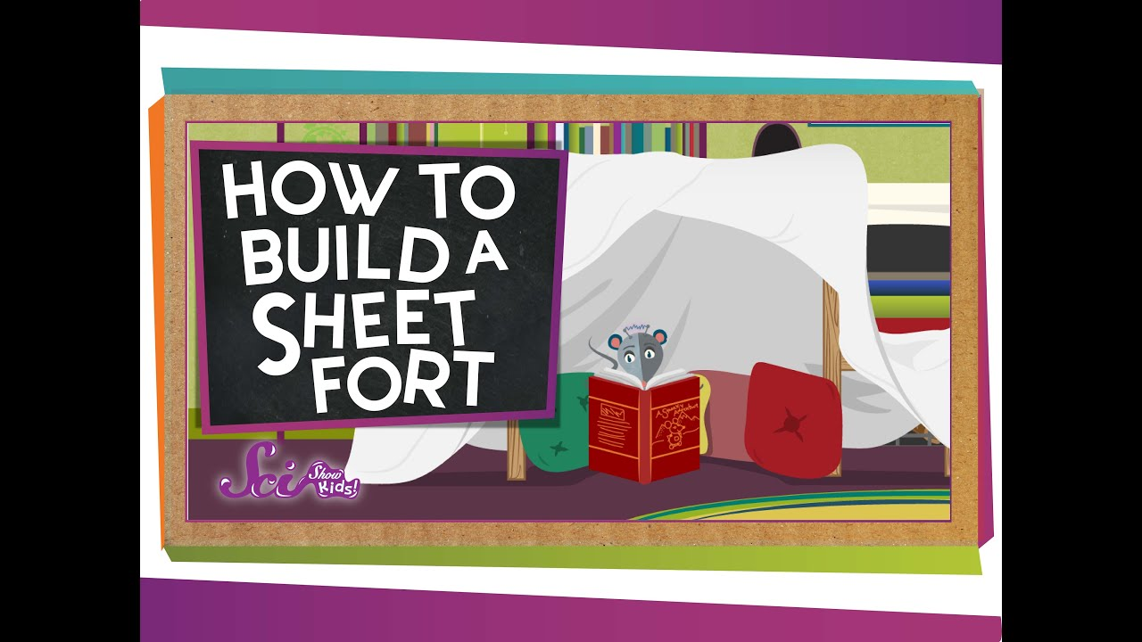 How To Build a Sheet Fort  YouTube