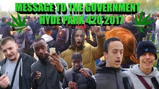 Message To The Government-420 Hyde Park