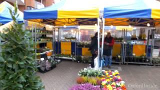39. OxfordInside. Рынок в Оксфорде по средам. Market on Gloucester Green, Oxford